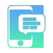 communicate via text message